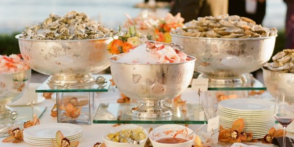 wedding – beach raw bar